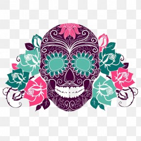 5 De Mayo - Calavera Day Of The Dead Human Skull Symbolism Death PNG