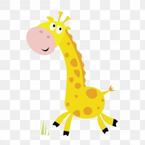 Giraffe - Giraffe Cartoon Royalty-free Illustration PNG