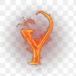Fire Letter - Letter English Alphabet Fire Y PNG