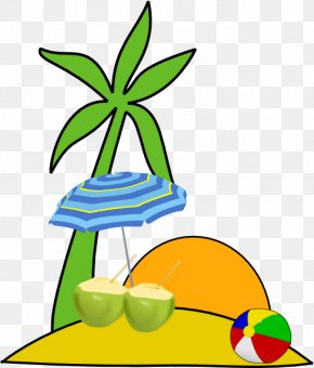 Beach - Clip Art For Summer Clip Art PNG