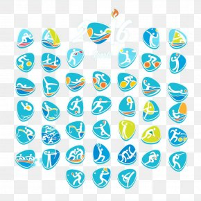 Rio Olympic Games Sports Icon - 2016 Summer Olympics Opening Ceremony Rio De Janeiro 2012 Summer Olympics Logo PNG