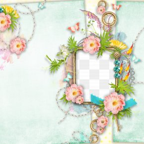 Creative Flower Frame - Floral Design Picture Frame Flower PNG
