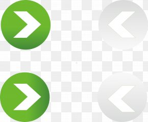 Arrow Button - Button Download Arrow Green PNG