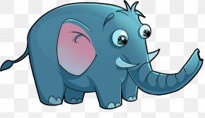Elephant Cartoon - Elephant Child Animal PNG