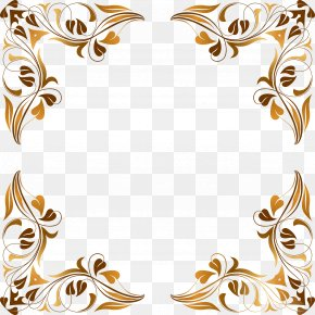 Floral Flourish Cliparts - Picture Frame Decorative Arts Clip Art PNG