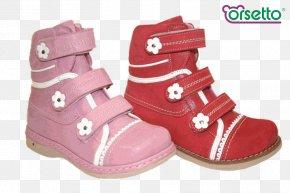 Boot - Snow Boot Shoe Walking Pink M PNG