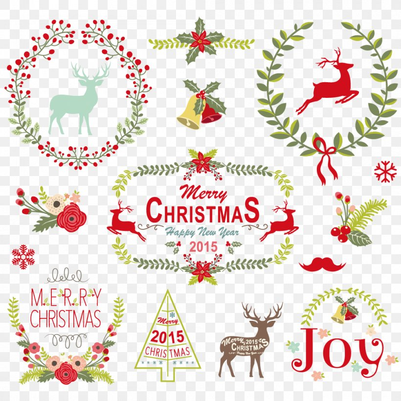 Vector Graphics Christmas Day Illustration Image, PNG, 1000x1000px, Christmas Day, Christmas Eve, Creative Market, Holiday, Holiday Ornament Download Free