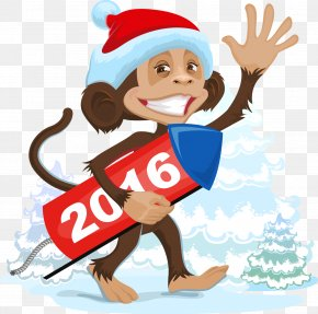 Chinese New Year - Ded Moroz Santa Claus Christmas Clip Art PNG