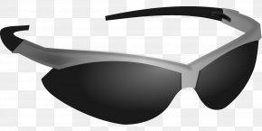 Sunglasses - Aviator Sunglasses Shutter Shades Clip Art PNG