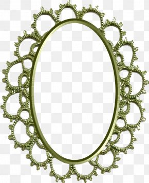 Oval - Circle Picture Frames Oval Body Jewellery Mirror PNG