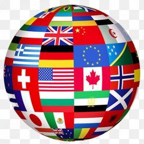 Globe - Flags Of The World Globe National Flag PNG