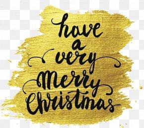 Merry Christmas! - Christmas Stock Illustration Holiday Greetings Font PNG