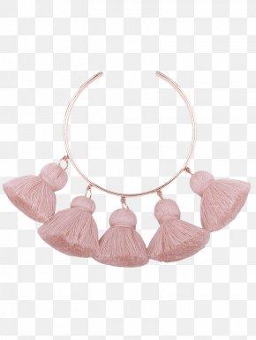 Necklace - Necklace Earring Bracelet Bangle Gold PNG
