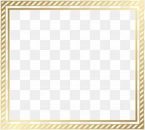 Border Frame Transparent Clip Art Image - Picture Frame Clip Art PNG