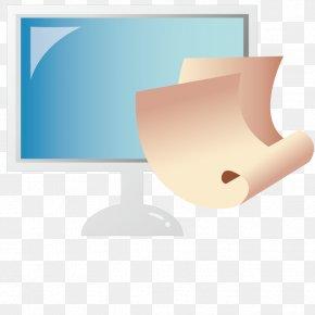 Vector Computer Monitor - Computer Monitor PNG