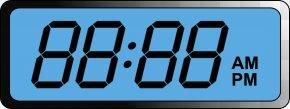 Digital Clock File - Digital Clock Alarm Clock Clip Art PNG
