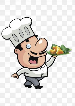 Dragon Boat Cartoon Hand Painted Chef Image - Pizza Chef Cooking Clip Art PNG