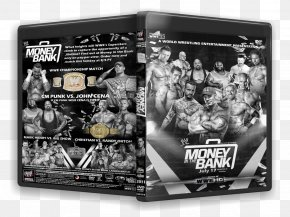 Money In The Bank - Money In The Bank Ladder Match Poster White PNG