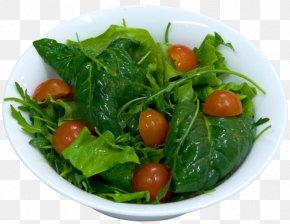 Krompir Paprikas - Spinach Salad Vegetarian Cuisine Spring Greens Food PNG
