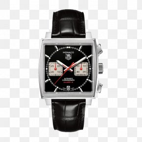 TAG,Heuer Men's Mechanical Watch - TAG Heuer Monaco Watch Strap Omega Speedmaster PNG