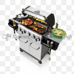 Barbecue Grill - Barbecue Broil King Regal S590 Pro Grilling Cooking Rotisserie PNG