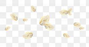 Beautiful Orange Metal Leaf Jewelry - Earring Body Piercing Jewellery Petal Pattern PNG
