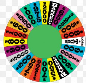 Wheel Of Fortune - Template Video Game Game Show PNG