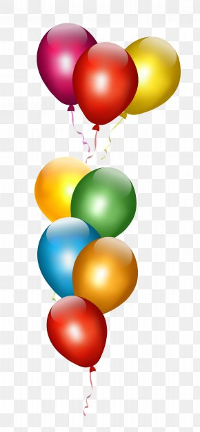 Transparent Balloons - Party Toy Balloon Birthday Gift PNG