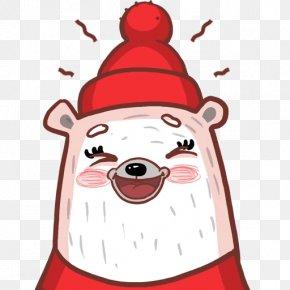 Santa Claus - Santa Claus Christmas Ornament Sticker Clip Art PNG