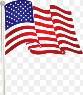 America Flag Pic - Flag Of The United States Clip Art PNG