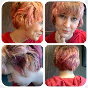 Short Hair - Hair Coloring Hairstyle Human Hair Color Long Hair PNG