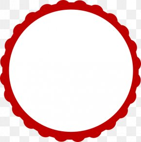 Circle Red Cliparts - Musical Note Template Clip Art PNG
