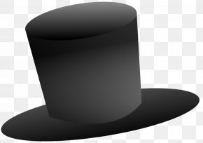 Top Hat Cliparts - Hat White Black PNG