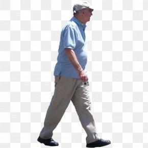 OLD MAN - Walking Man Male PNG