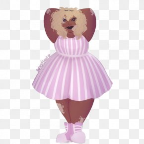 Child - Costume Child Doll Pink M Figurine PNG