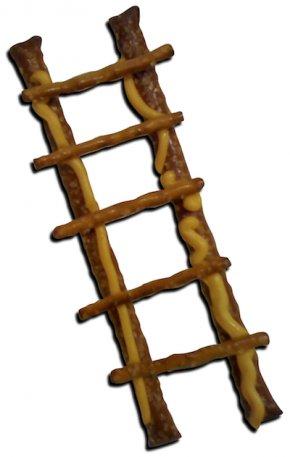 Cliparts Pretzel Sticks - Ladder Firefighter Clip Art PNG
