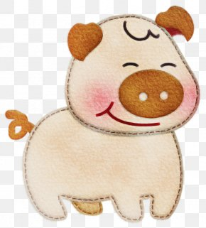 Plush Fawn - Cartoon Nose Stuffed Toy Toy Snout PNG