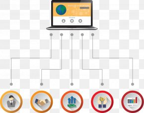 Vector Computer Button Chart - Button Infographic Chart Computer Graphics PNG