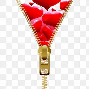 Zipper Inside Love - Icon PNG