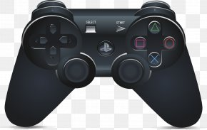 Joystick - PlayStation 2 PlayStation 3 PlayStation 4 Joystick Game Controllers PNG