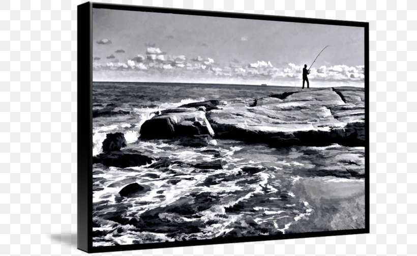 Picture Frames Stock Photography White, PNG, 650x503px, Picture Frames, Black And White, Monochrome, Monochrome Photography, Ocean Download Free