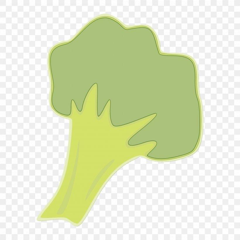 Green Leaf Tree Broccoli Logo, PNG, 2000x2000px, Watercolor, Broccoli, Cruciferous Vegetables, Green, Leaf Download Free