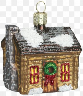 House - Log Cabin Syrup House Ornament Cottage PNG