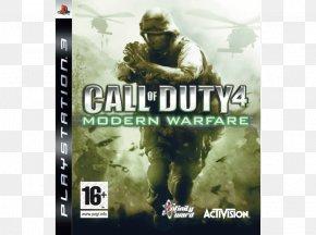 Call Of Duty 4 - Call Of Duty 4: Modern Warfare Call Of Duty: Modern Warfare 2 Call Of Duty: Modern Warfare 3 Xbox 360 Far Cry 4 PNG