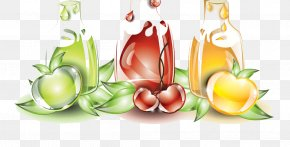 Baby Cartoon Balloon Design - Juice Fruit Drink PNG