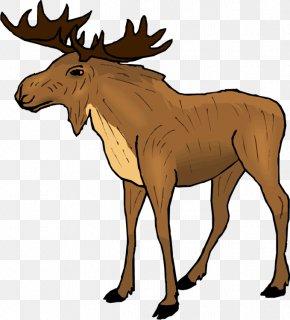 Animal Wildlife Cliparts - Moose Elk Free Content Reindeer Clip Art PNG