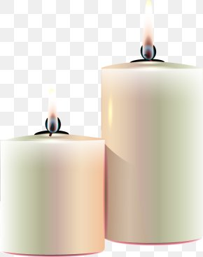 Vector Hand-painted Candles - Candle Euclidean Vector Vecteur PNG