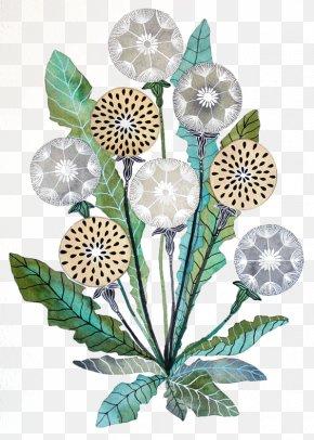 Dandelion - Watercolor Painting Art Printmaking Paper PNG
