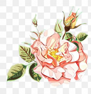 Artificial Flower Magnolia - Watercolor Pink Flowers PNG