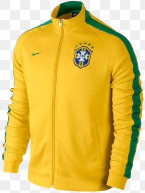 Nike - Nike Brazil National Football Team 2014 FIFA World Cup T-shirt PNG